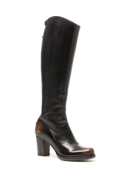 Alberto Fasciani Fiore Mid Heel in Burnished Black (310268002328)