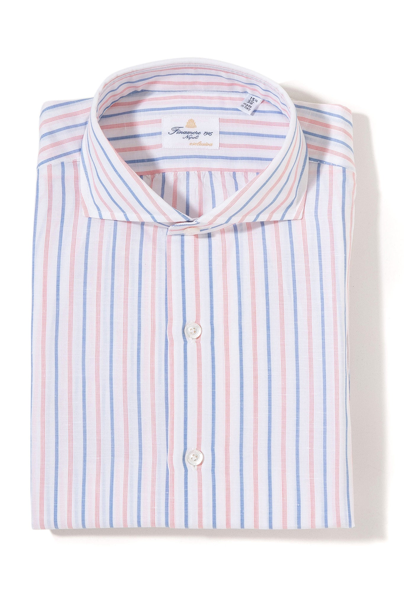 Finamore Norris Esclusiva Dress Shirt (4103419527261)