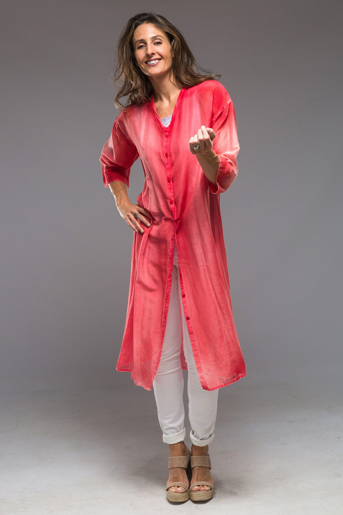 Avant Toi Paloma Long Shirt Duster (4286653202525)
