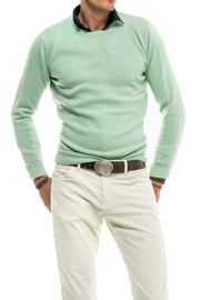 Axel's Bartoli Crew Neck in Green