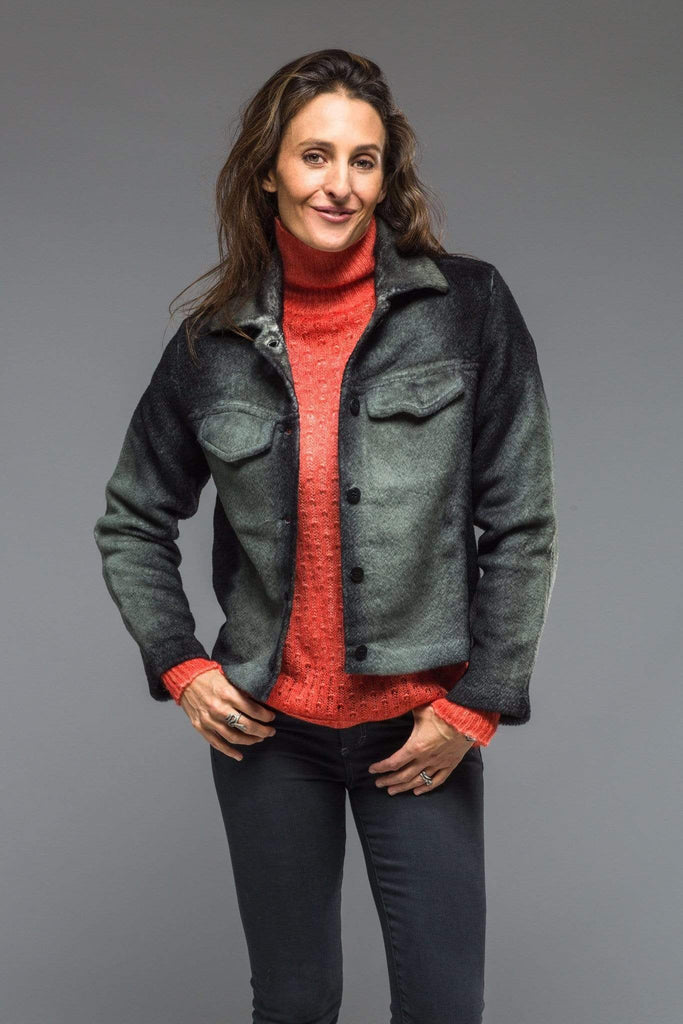 "Avant Toi Quartz ""Denim"" Alpaca Jacket Ladies - Sweaters"