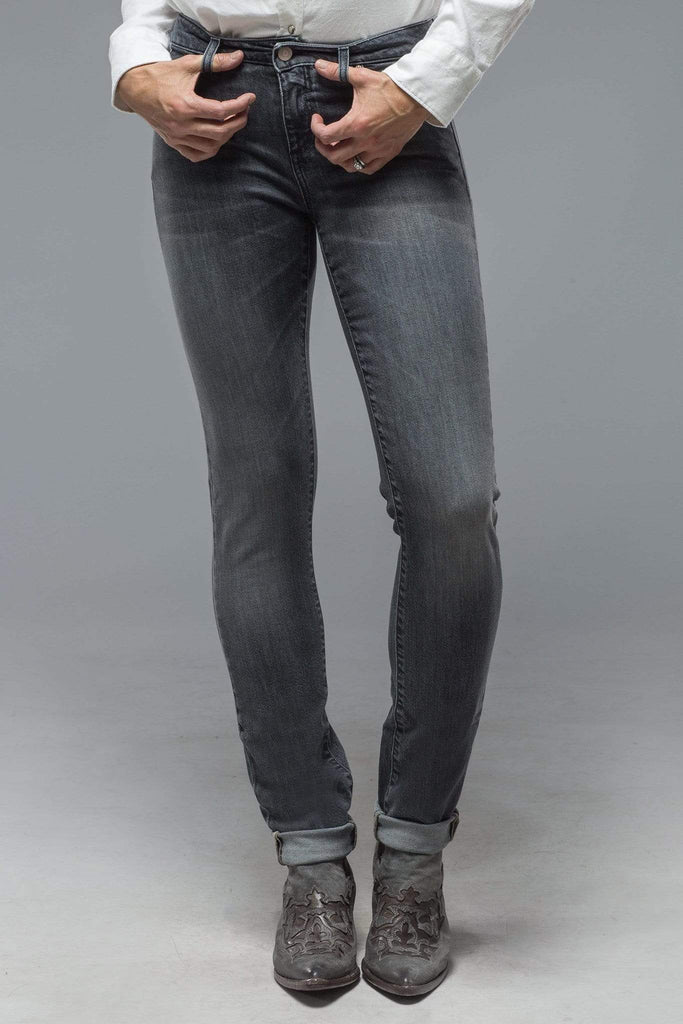 Axel'S Madison Skinny Jeans In Antracite Ladies - Pants