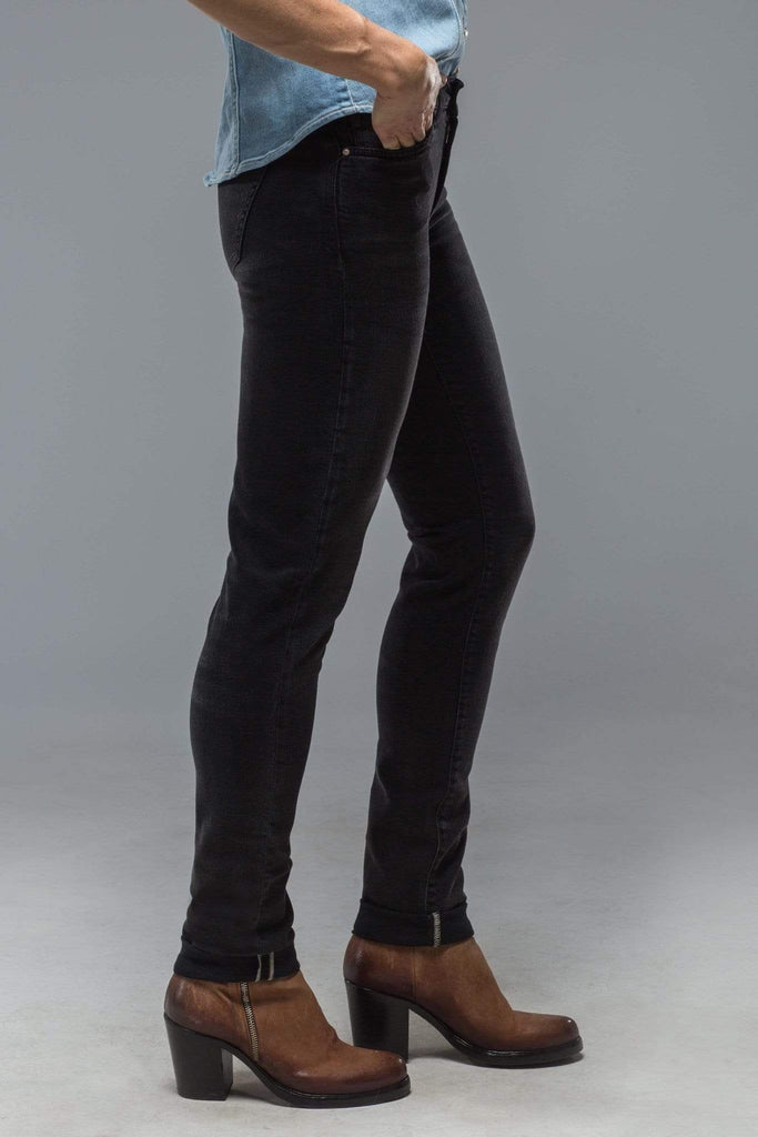 Axel'S Madison Skinny Jeans In Black Authentic Ladies - Pants
