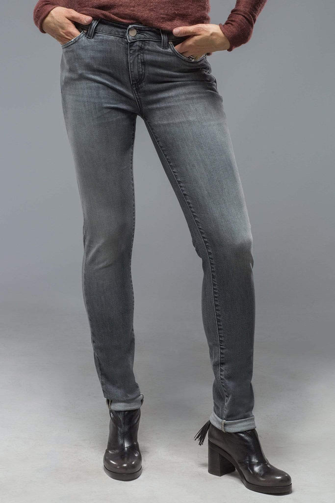 Axel'S Madison Skinny Jeans In Mid Light Grey Ladies - Pants