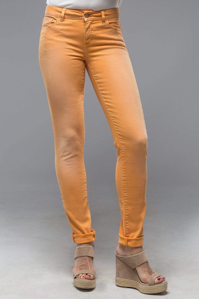 Axel'S Madison Skinny Jeans In Washed Apricot Ladies - Pants