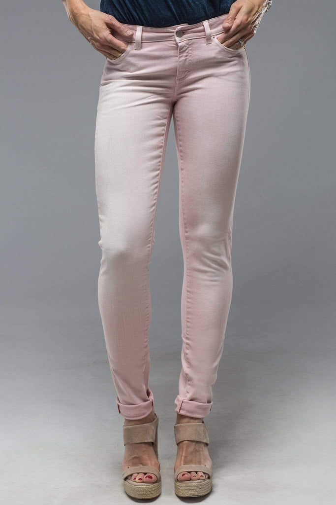 Axel'S Madison Skinny Jeans in Washed Red Beet Ladies - Pants