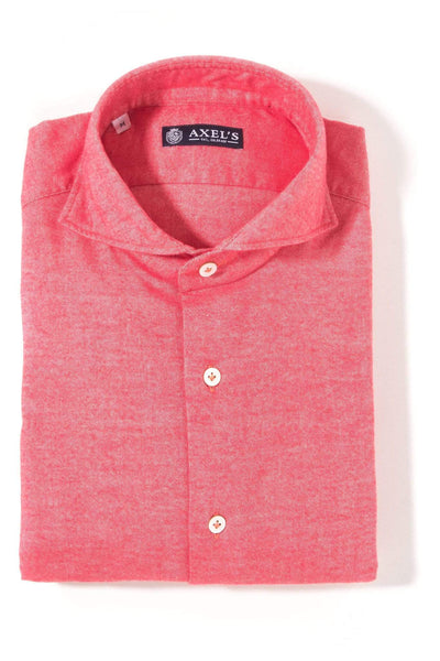 Axels GP Conway Flannel Shirt In Red Mens - Shirts