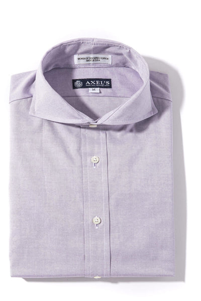 Axels-Is Audubon Pinpoint Oxford Dress Shirt In Lavender Mens - Shirts - Outpost