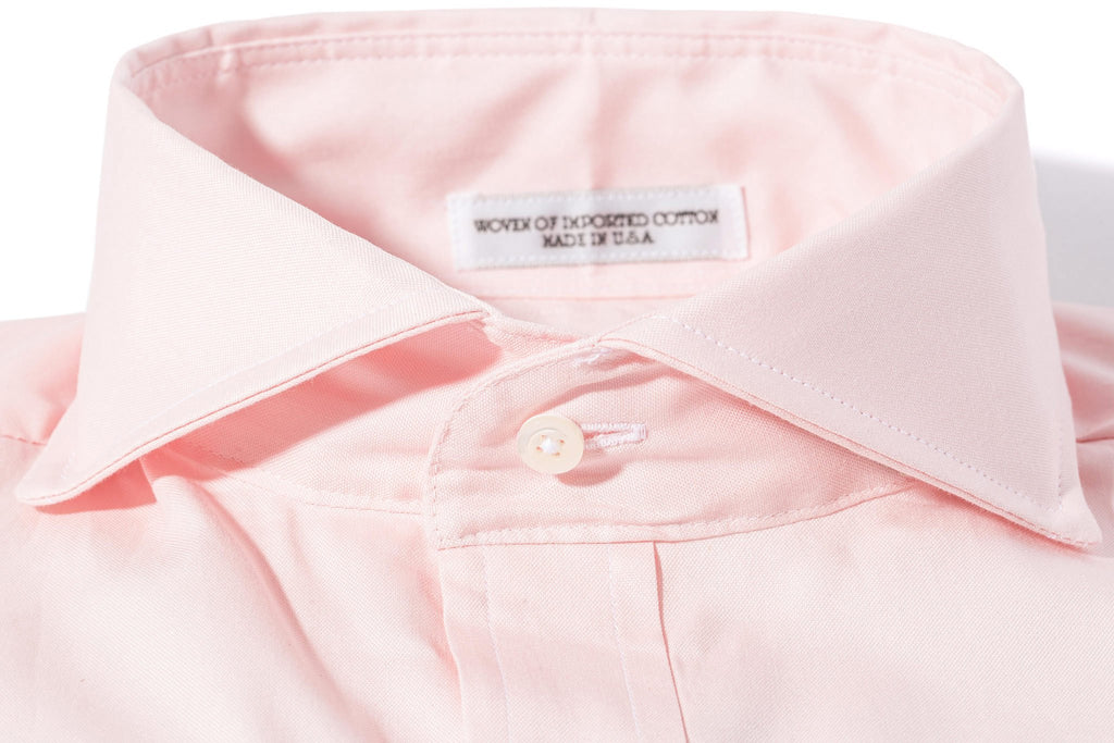 Axels-Is Audubon Pinpoint Oxford Dress Shirt In Pink Mens - Shirts - Outpost