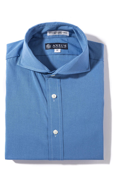 Axels-Is Audubon Pinpoint Oxford Dress Shirt In Royal Mens - Shirts - Outpost