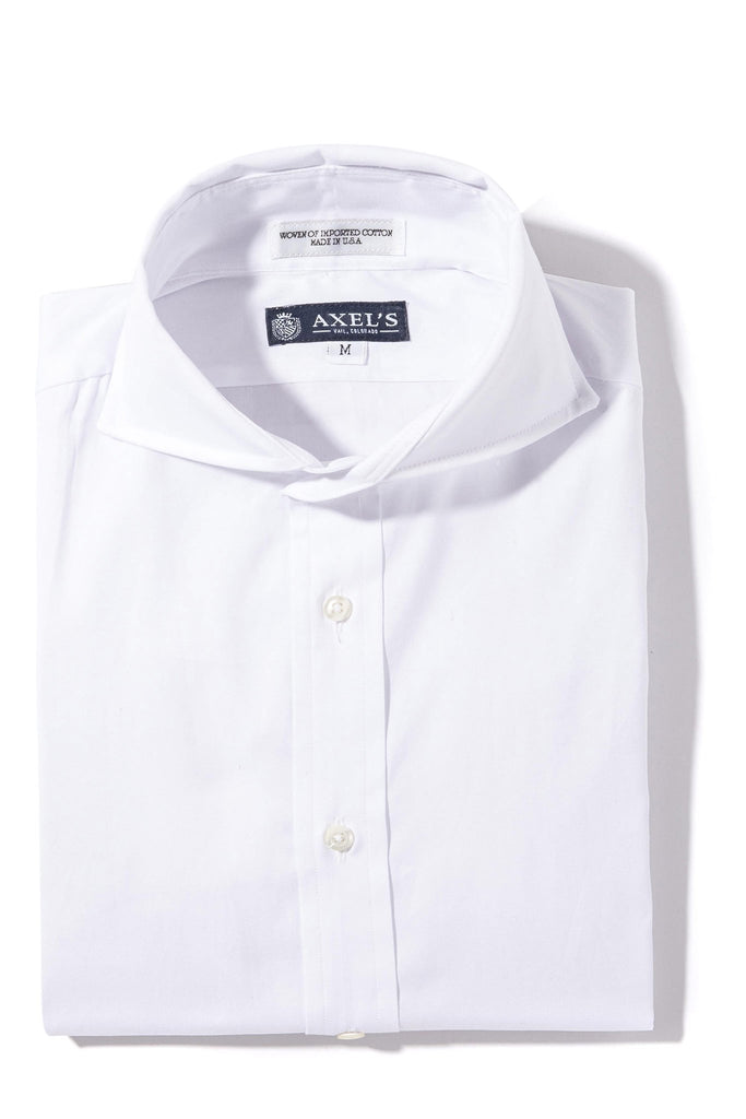 Axels-Is Audubon Pinpoint Oxford Dress Shirt In White Mens - Shirts - Outpost