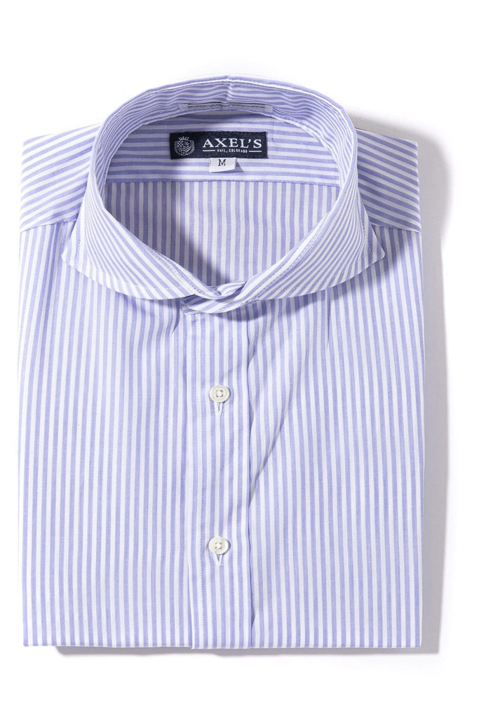 Axels-Is Coras Bengal Dress Shirt In Light Purple Mens - Shirts - Outpost