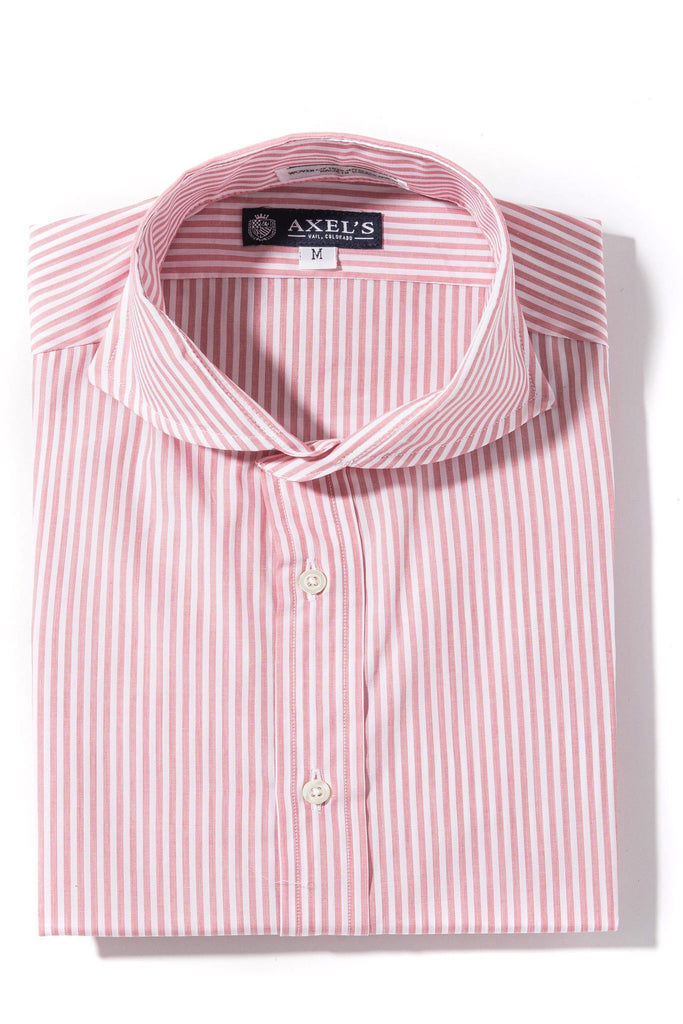 Axels-Is Coras Bengal Dress Shirt In Red Mens - Shirts - Outpost