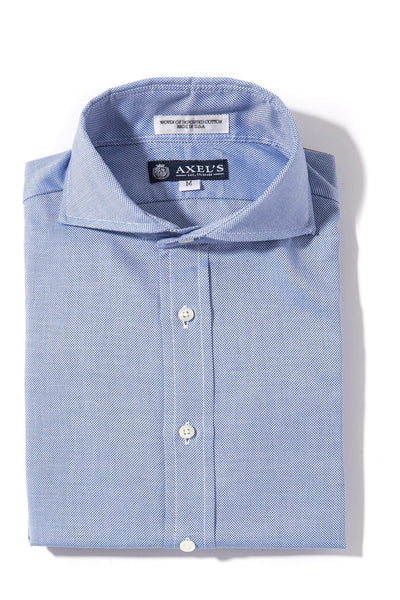 Axels-Is Kings Oxford In Royal Mens - Shirts - Outpost