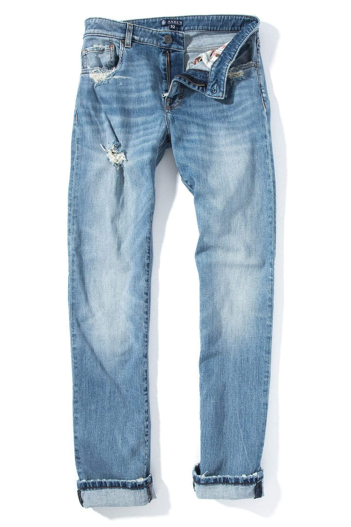 Axels Premium Denim Tombstone Light Wash Mens - Pants - 5 Pocket