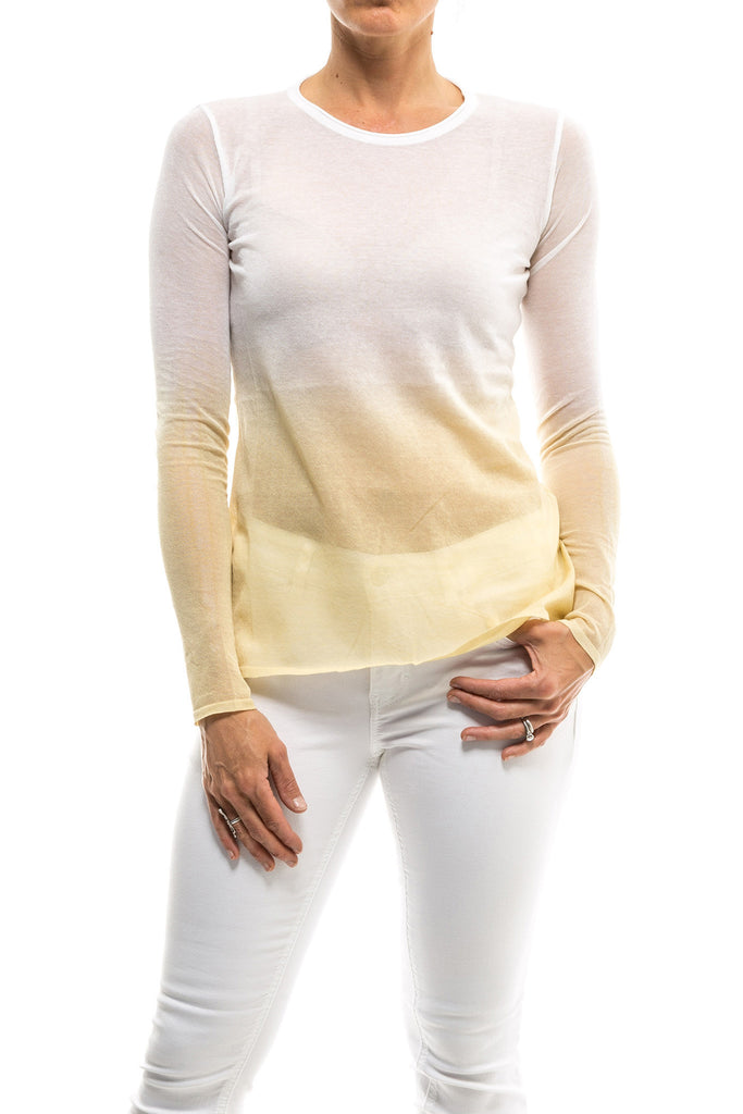Giselle Ombré Top In Beige (4598330359901)