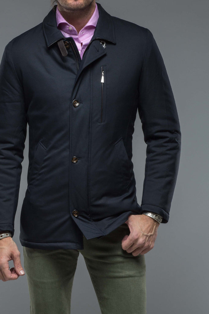 Chilton Campus Jacket In Navy (4456685207645)