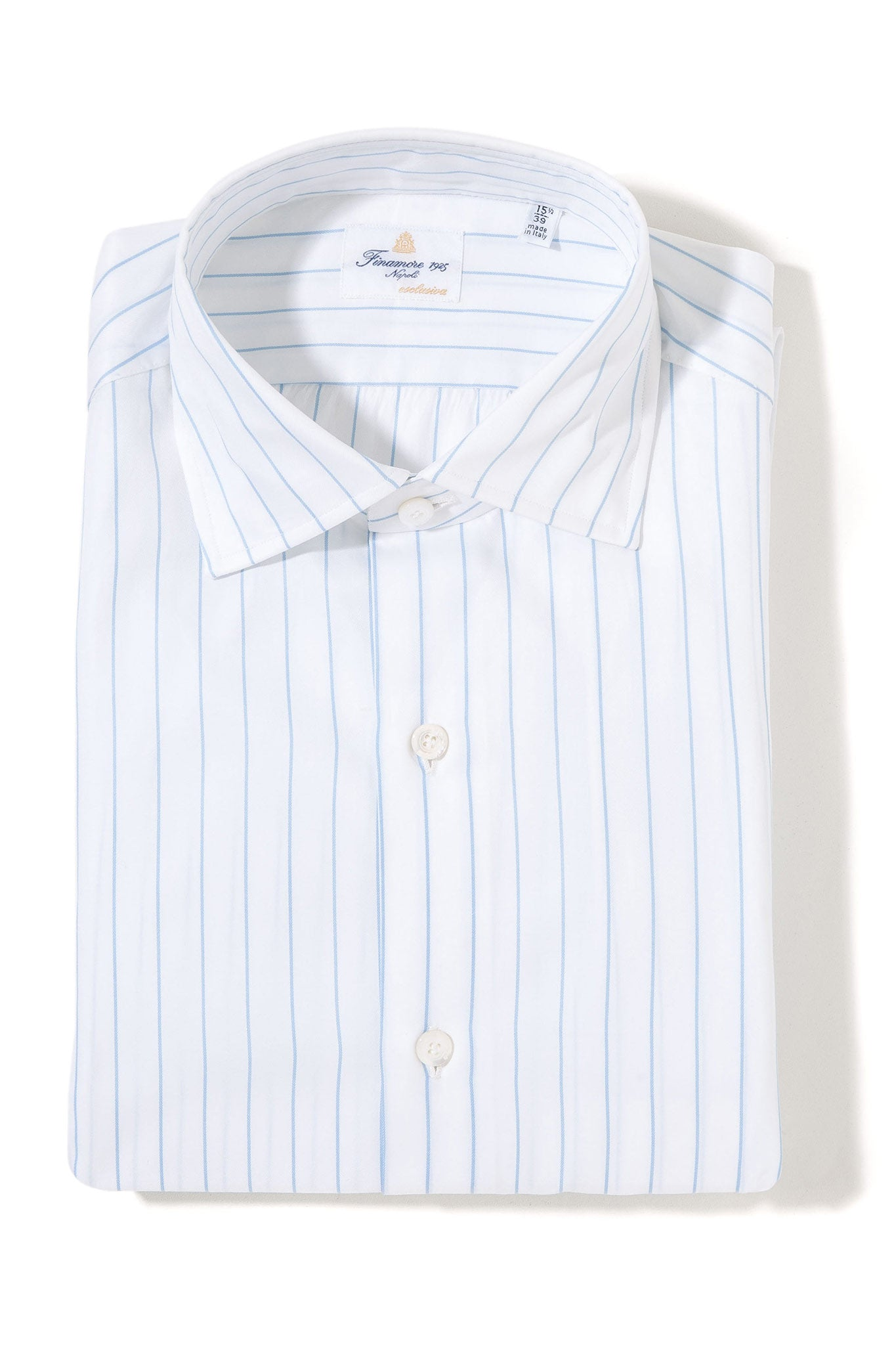 Finamore Briggs Esclusiva Dress Shirt (3827042779229)