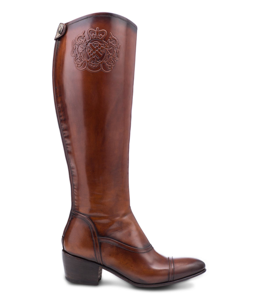 Maddalena Riding Boot in Cognac (4598296805469)