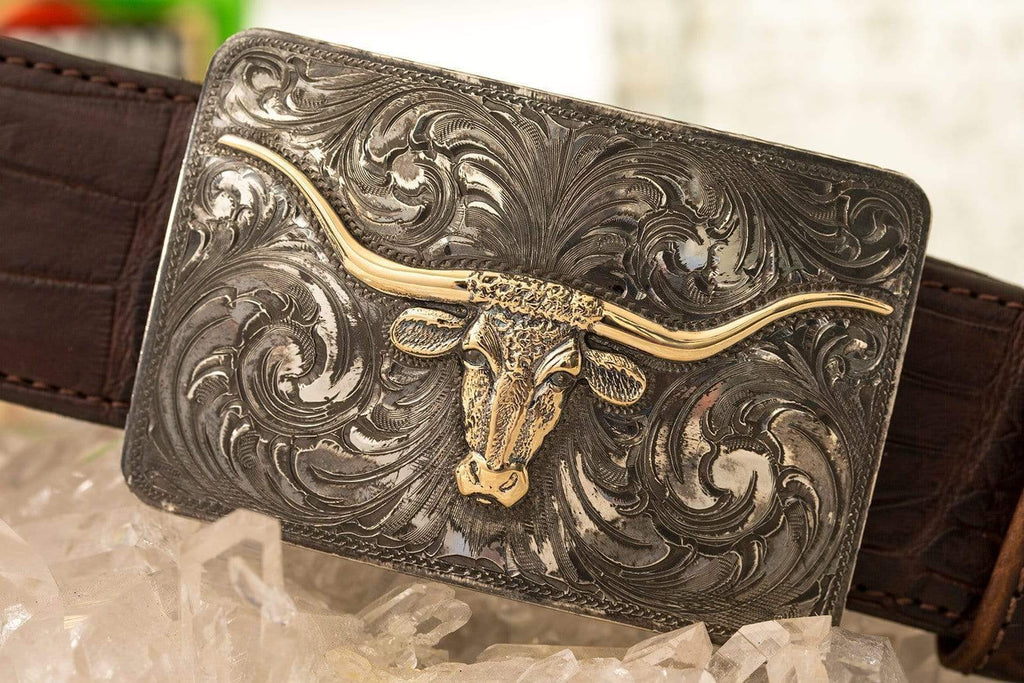 Comstock Heritage Aiken County Longhorn Belts And Buckles - Trophy