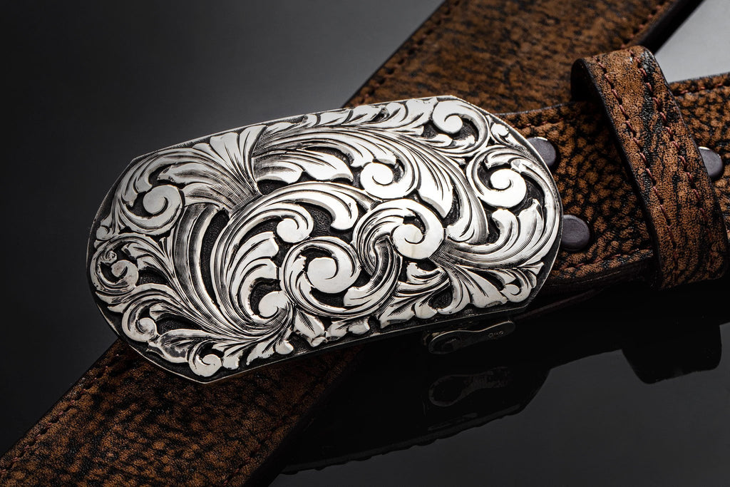 Comstock Heritage AO Branson Swirl Belts And Buckles - Trophy