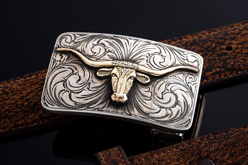 Comstock Heritage Mesa Longhorn Belts And Buckles - Trophy