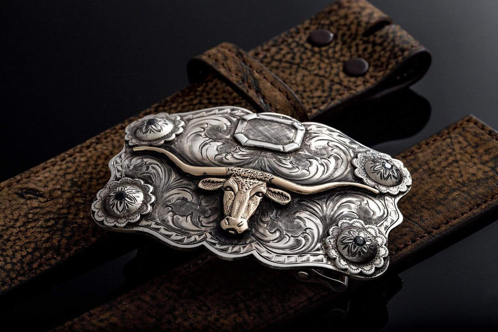 Comstock Heritage Morgan Longhorn Belts And Buckles - Trophy