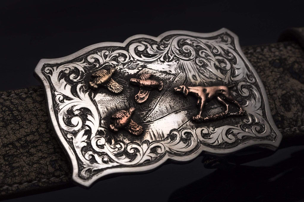 Comstock Heritage Quail Hunt Belts And Buckles - Trophy