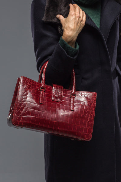 Gianfranco Lotti Carrie Crocodile Bag