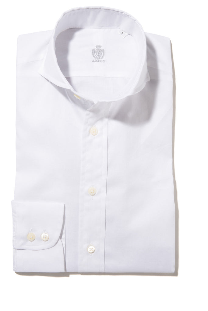 Athens Royal Oxford Shirt in White (4604309897309)