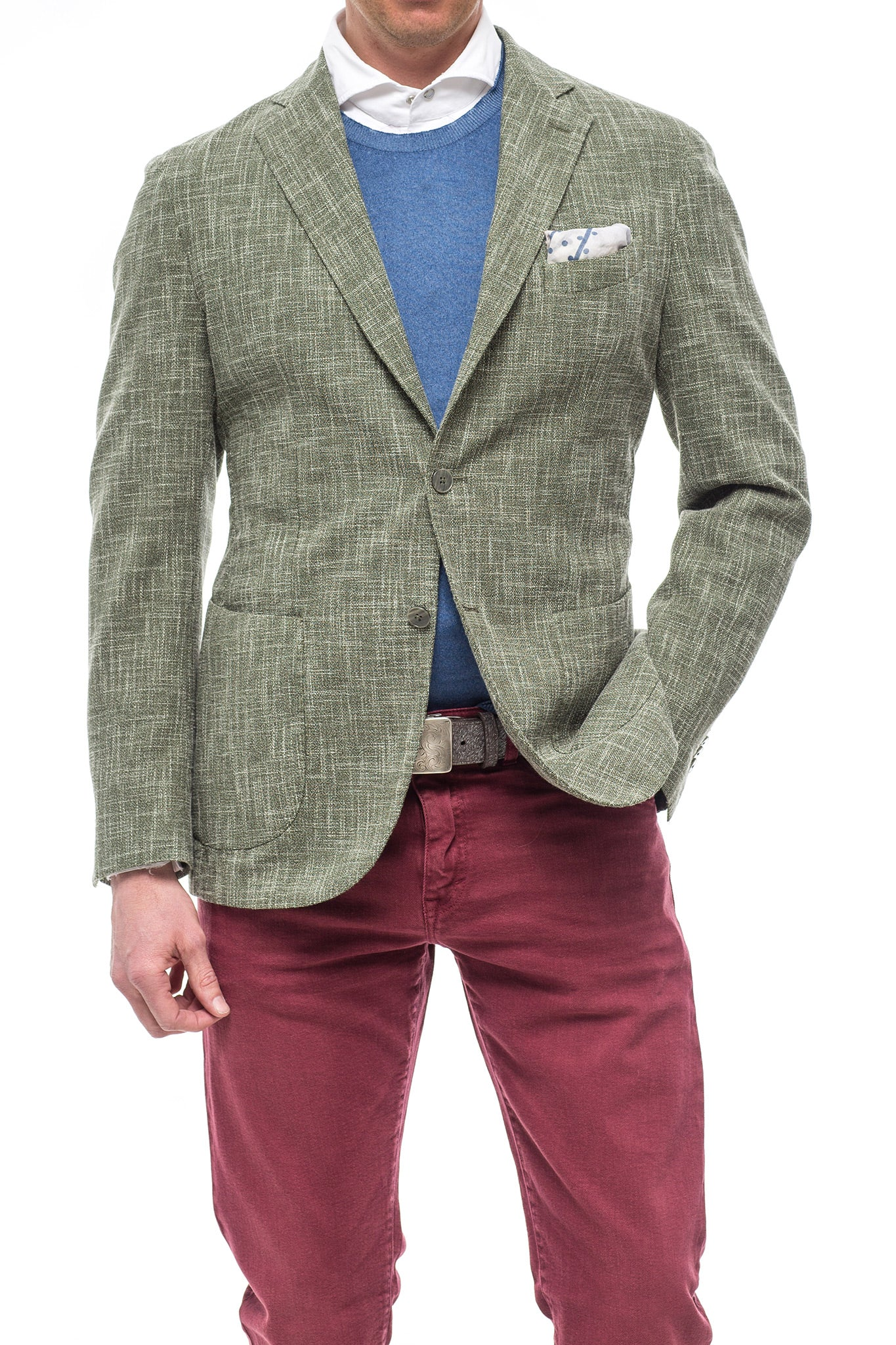 Axel's Palmento Striation Sport Coat (3695097315421)