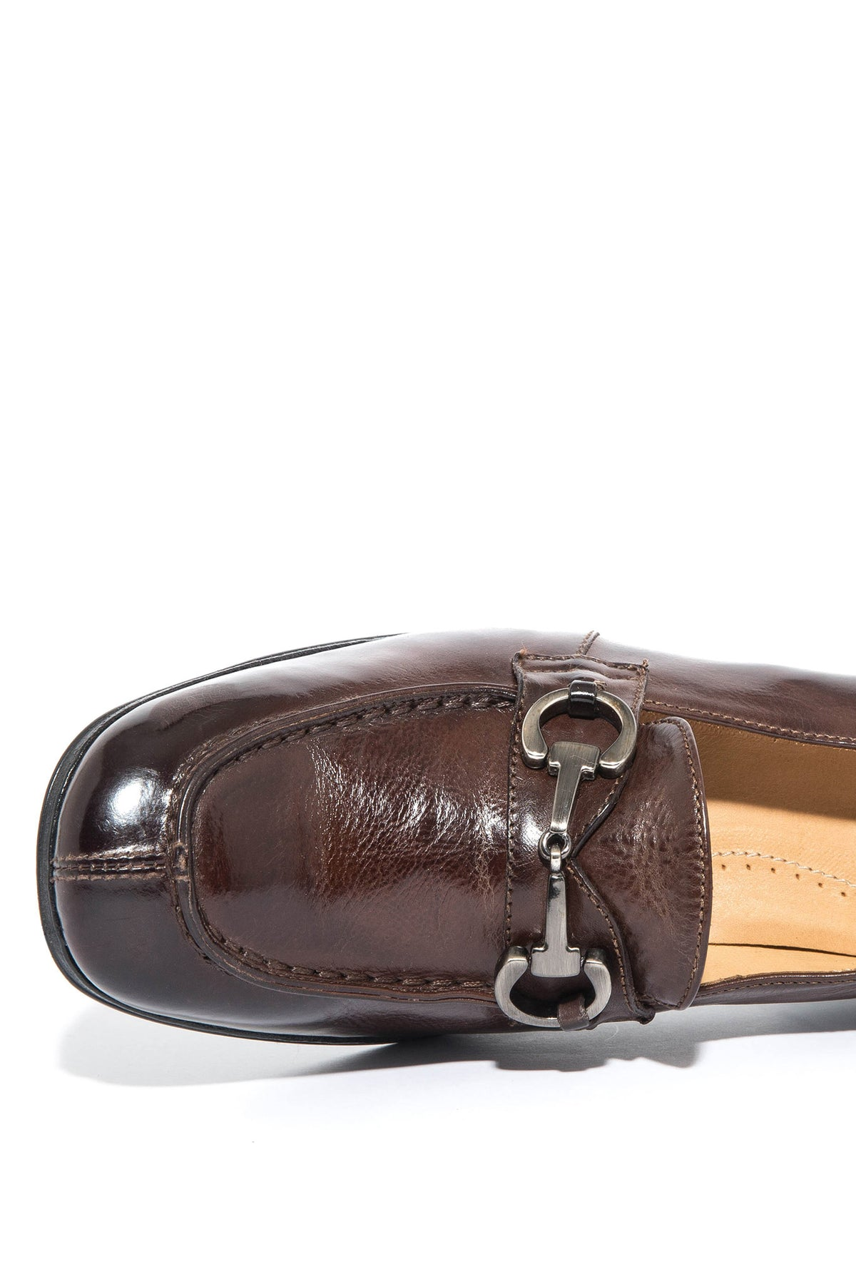 Janies High Heel Loafer In Burnished Brown (3558584483933)