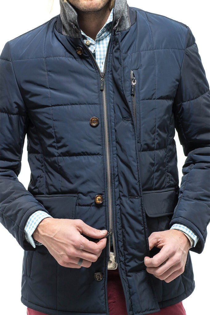 Edison Quilted Jacket Navy (4594722472029)