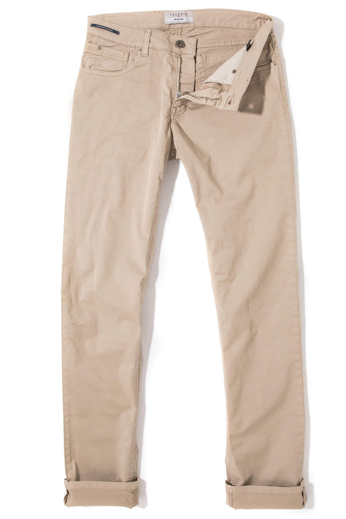 Fowler Ultralight Performance Pant In Beige (4686587723869)
