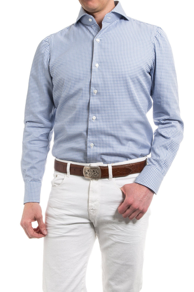 Garonne Check Dress Shirt (4604312256605)