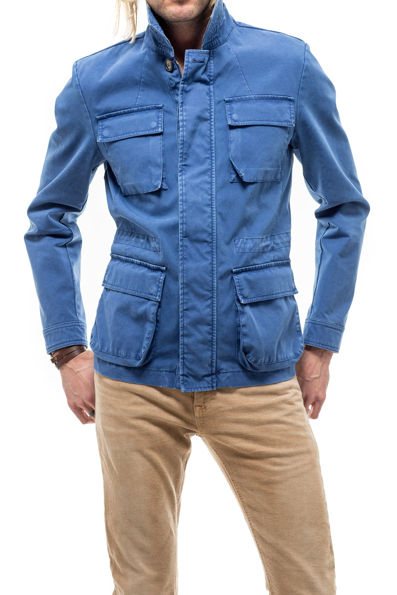 Axel's Ombra Outerwear Jacket In Blue (3765013119069)