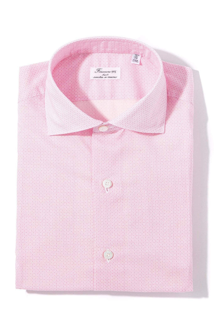 Finamore Napoli Alden Dress Shirt Mens - Shirts - Outpost