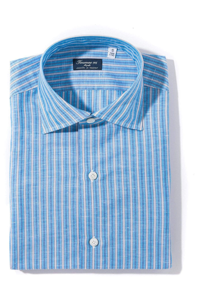 Finamore Napoli Connor Dress Shirt Mens - Shirts - Outpost