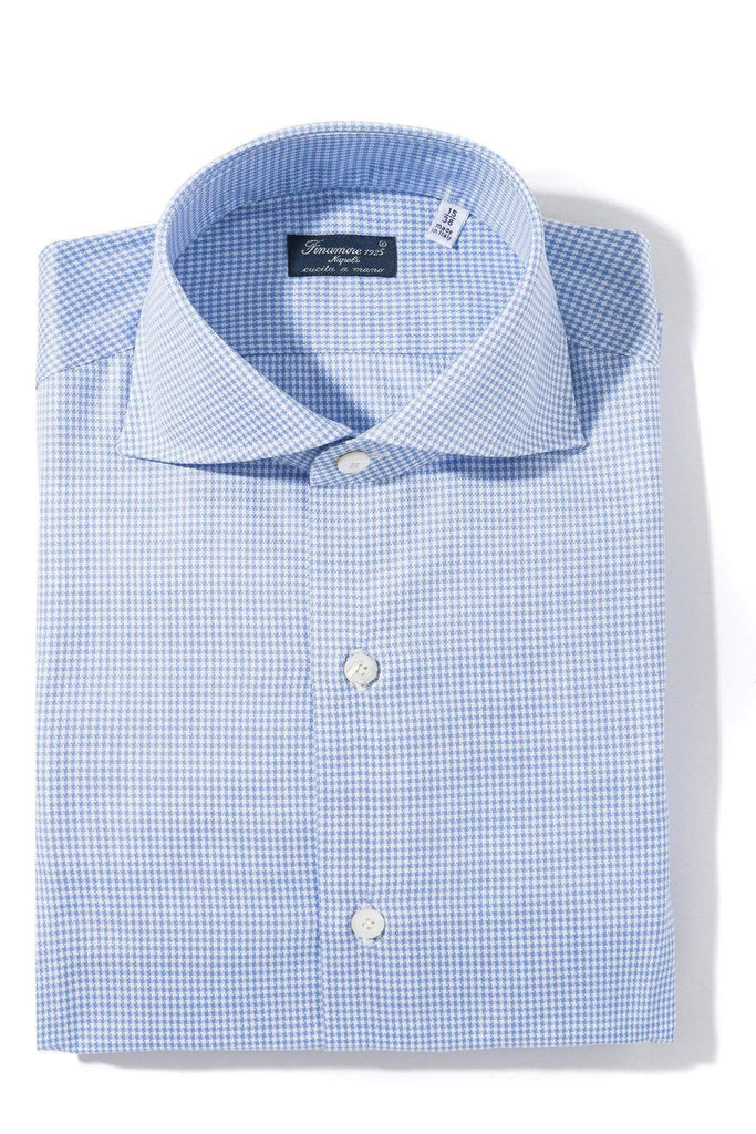 Finamore Napoli Ethan Dress Shirt Mens - Shirts - Outpost