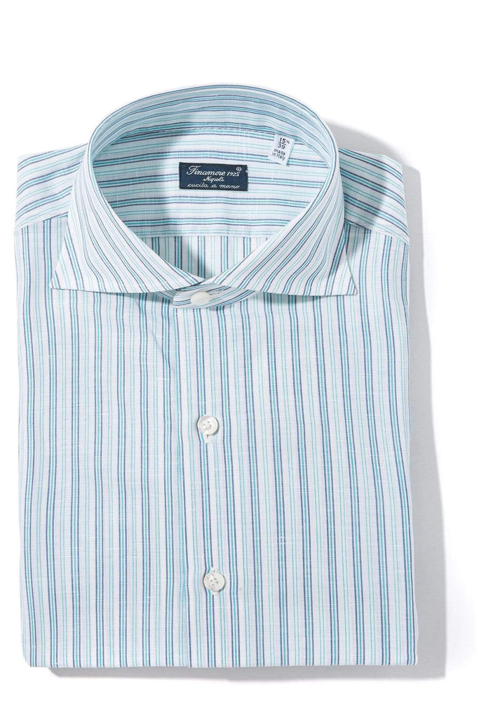 Finamore Napoli Karson Dress Shirt Mens - Shirts - Outpost