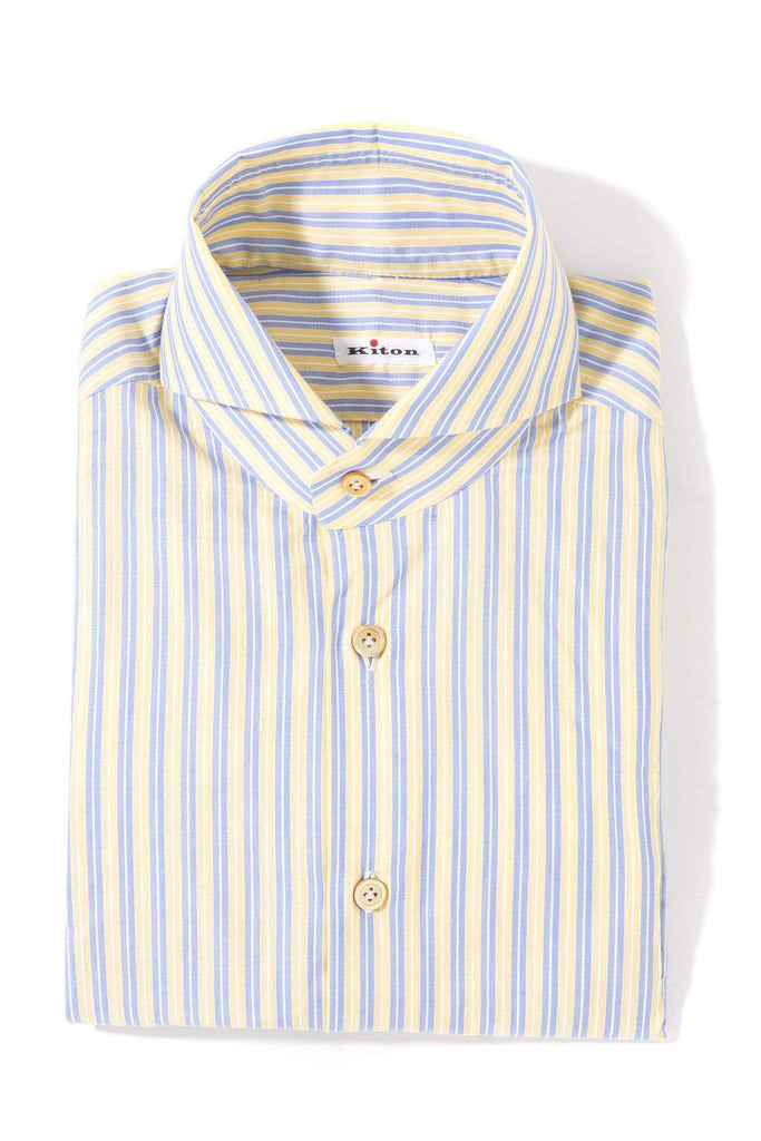 Kiton Century Dress Shirt Mens - Shirts