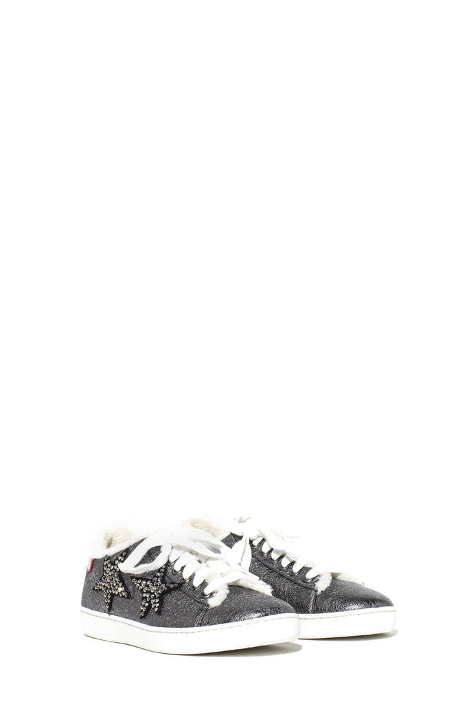 Lola Cruz Lola Cruz Cozy Metallic Star Sneaker Ladies - Shoes