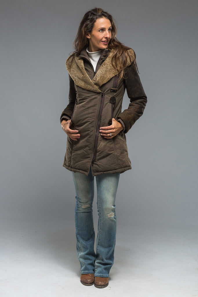 Roncarati Hale Coat Ladies - Outerwear - Shearling