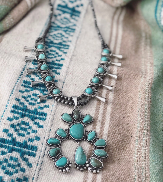 Las Cruces Squash Blossom Necklace