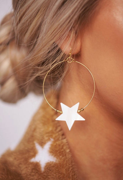Star 💫 Hoop Earrings