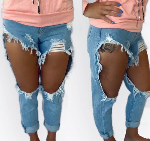 Wendy Distressed Jeans