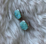 Rosebud Druzy Earrings