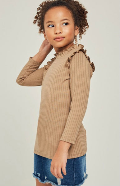 Ruffle Children's Top