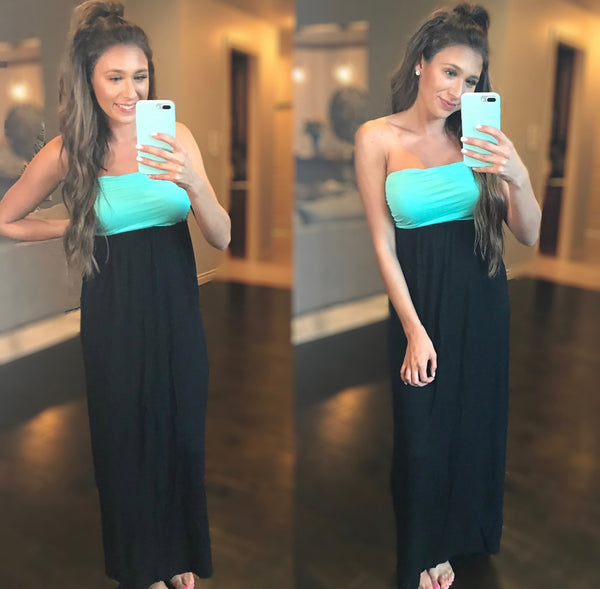 Kali Strapless Maxi Dress
