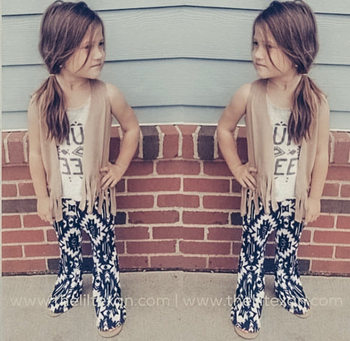 Abbie Aztec Flare Bottoms